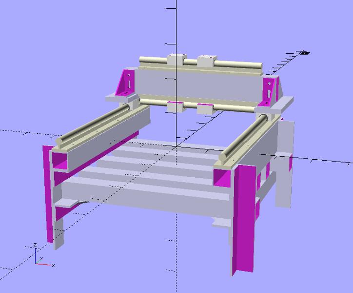 Portique CNC exotique Cnc_v510