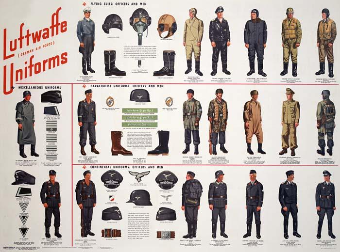 Uniforme Luftwaffe  de 1935 -1945 Luftwa10