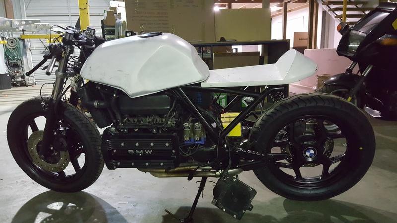 K100 cafe racer build 20160713