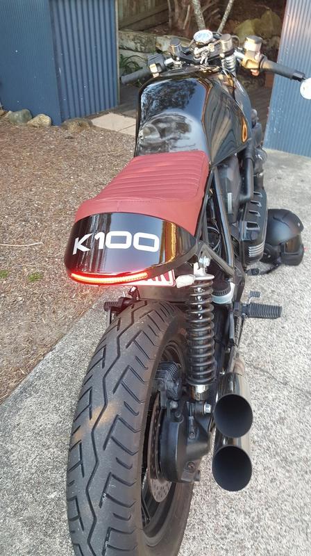 K100 cafe racer build 20160719