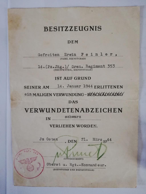 Signature diplôme blessé allemand ww2 Img_2020