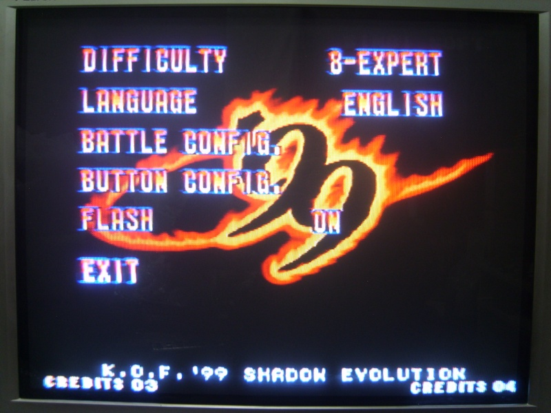 [MVS cartridge] KOF 99 SHADOW EVOLUTION - prototype - (by SINBI★SOFT) Mvs_iu13