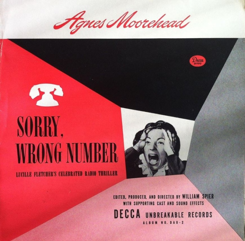 Sorry, Wrong Number - 1947 Decca Record Version Decca_10