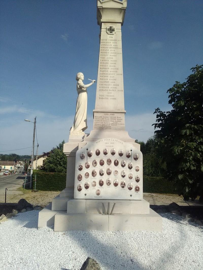 MONUMENTS AUX MORTS 1870 Chabon11