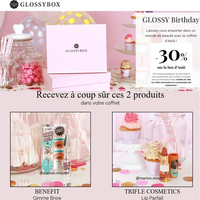 [Août 2016] Glossybox - Page 3 Glossy13