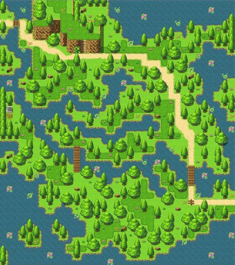 Screenshot de vos projets Map_fo10