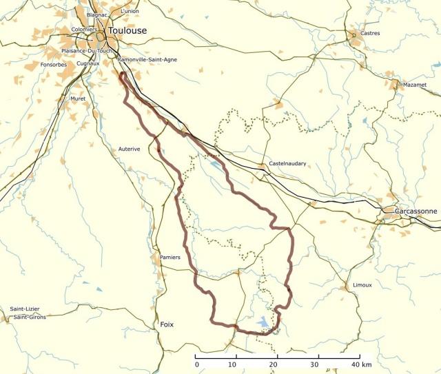 Le Dodécaudax d'Arno autour de Toulouse Carte012