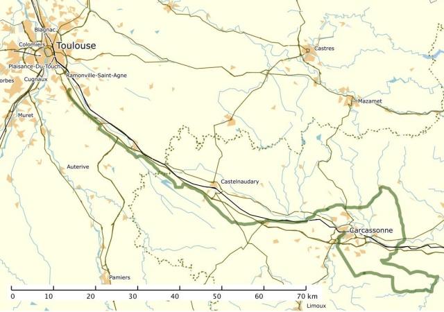 Le Dodécaudax d'Arno autour de Toulouse Carte013