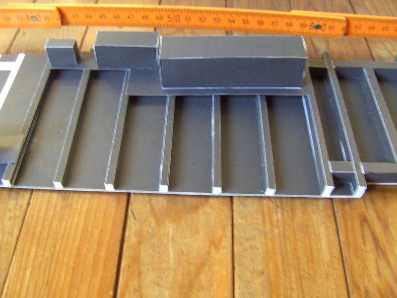 Fertig - Dreiteilige elektrische Triebeinheit - EN 57 gebaut von Holzkopf Bild1812