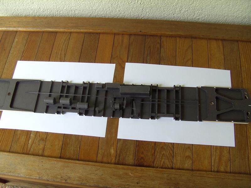 Fertig - Dreiteilige elektrische Triebeinheit - EN 57 gebaut von Holzkopf Bild1820