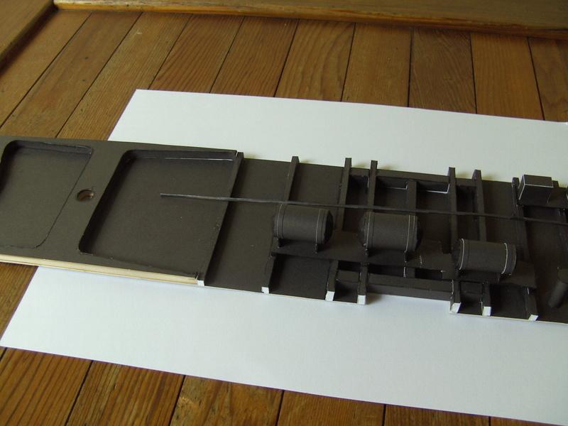 Fertig - Dreiteilige elektrische Triebeinheit - EN 57 gebaut von Holzkopf Bild1822