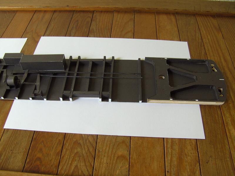 Fertig - Dreiteilige elektrische Triebeinheit - EN 57 gebaut von Holzkopf Bild1823