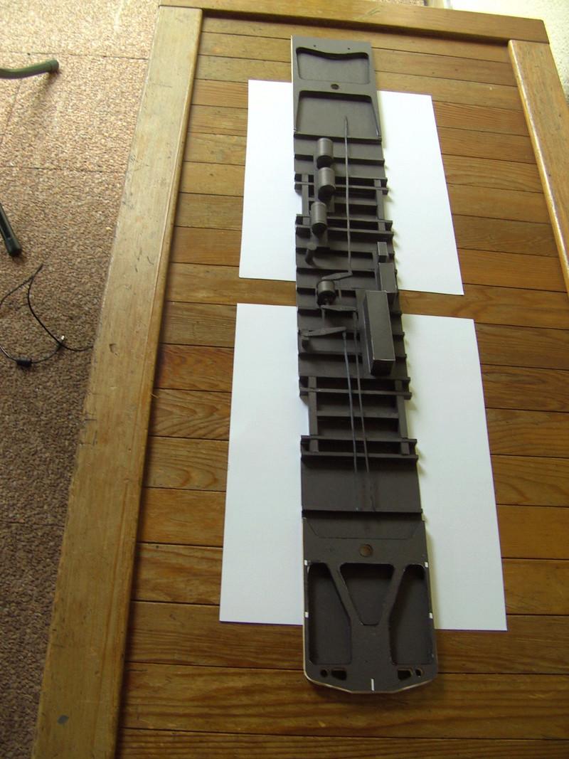 Fertig - Dreiteilige elektrische Triebeinheit - EN 57 gebaut von Holzkopf Bild1826