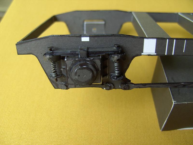 Fertig - Dreiteilige elektrische Triebeinheit - EN 57 gebaut von Holzkopf Bild1827