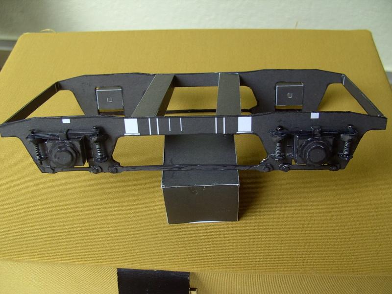 Fertig - Dreiteilige elektrische Triebeinheit - EN 57 gebaut von Holzkopf Bild1829