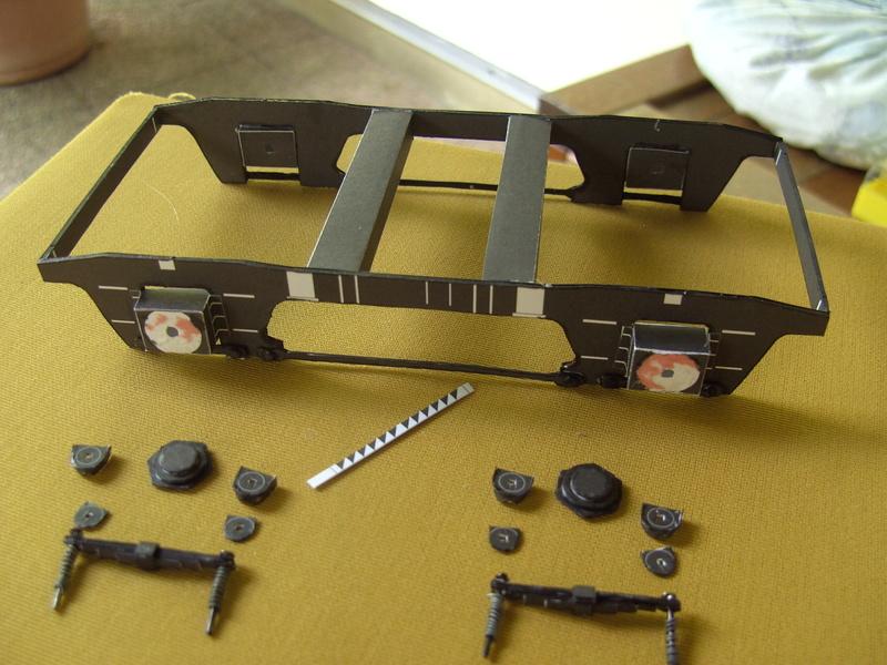 Fertig - Dreiteilige elektrische Triebeinheit - EN 57 gebaut von Holzkopf Bild1831