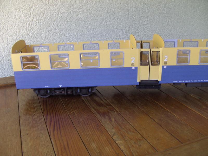 Fertig - Dreiteilige elektrische Triebeinheit - EN 57 gebaut von Holzkopf - Seite 2 Bild1850