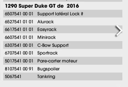 top case pour GT Hb11