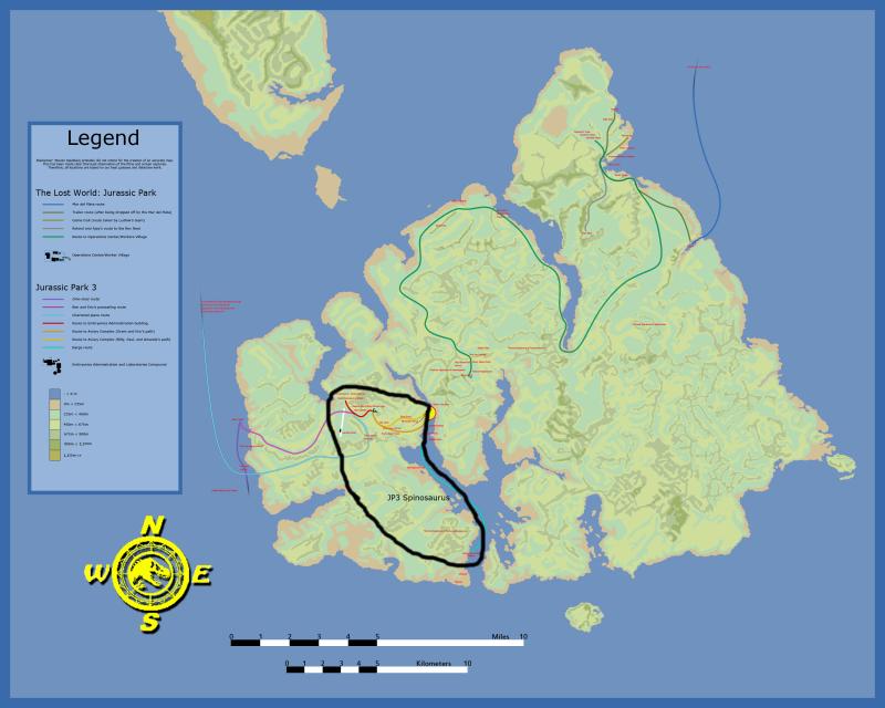 Isla Sorna Map Sorna_13
