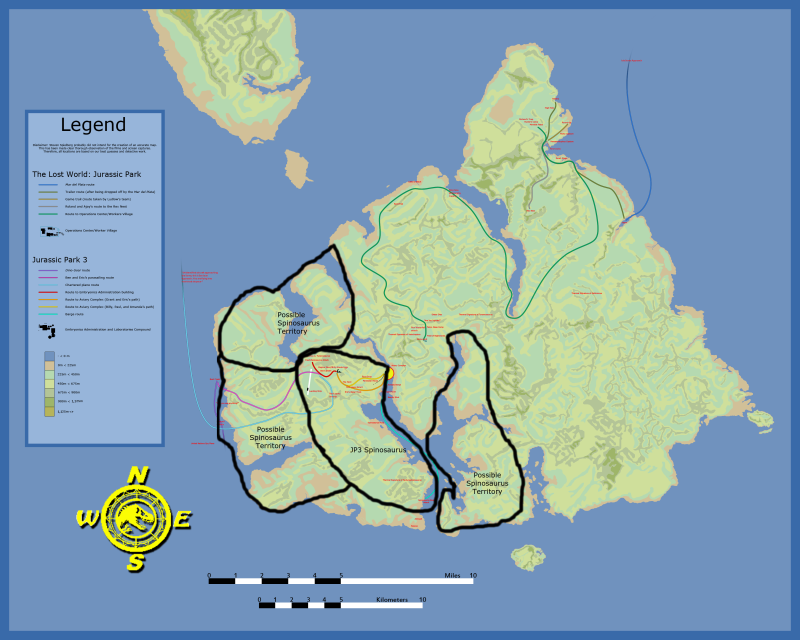 Isla Sorna Map Sorna_14
