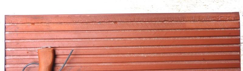 Vintage Ceramic Tile Wall Plaque - Unknown Maker P1240122