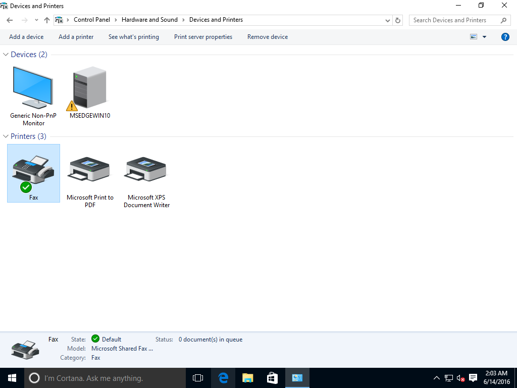 Εγκατάσταση σε Windows 10 Printe10