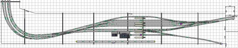 Mon Réseau, Gare CFL de Wallange sur la ligne du Nord Benelu19