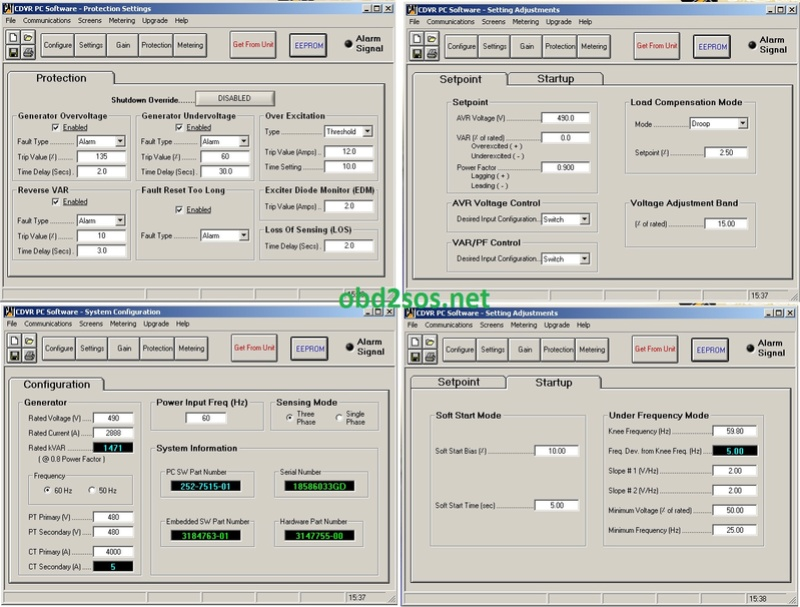 CATERPILLAR DIGITAL VOLTAGE REGULATOR SOFTWARE Free Download link Cdvr_p10