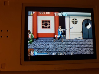 Test double dragon advance GBA  20180616