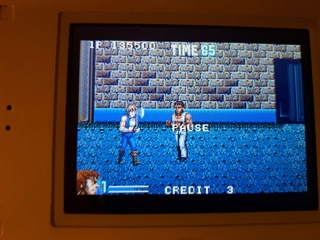Test double dragon advance GBA  20180619