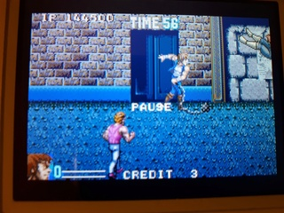 Test double dragon advance GBA  20180621