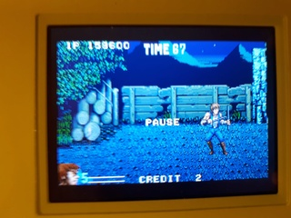 Test double dragon advance GBA  20180625