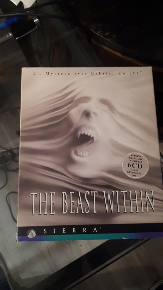 ♥ We love point and click sur PC ♥ Test de Gabriel Knight The Beast Within 20200410