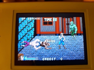 Test double dragon advance GBA  Abobo10