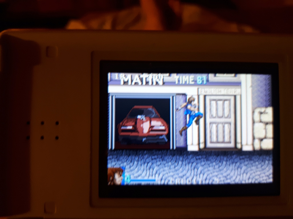 Test double dragon advance GBA  Coup_d11