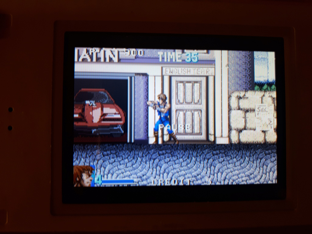 Test double dragon advance GBA  Coup_d12