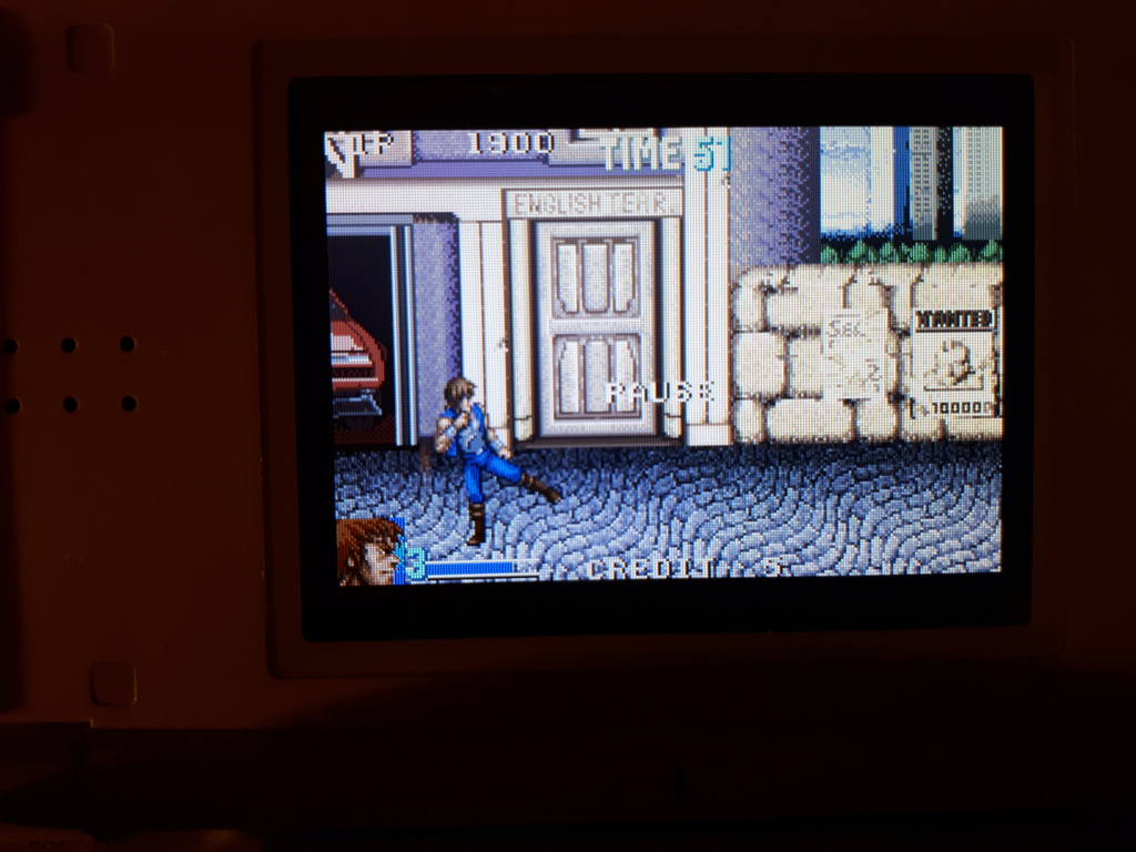 Test double dragon advance GBA  Coup_d13