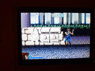 Test double dragon advance GBA  Parade10