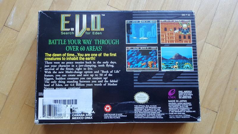[EST] Earthbound et EVO / Looney  super nintendo  (Estim / Conseil) Evo210