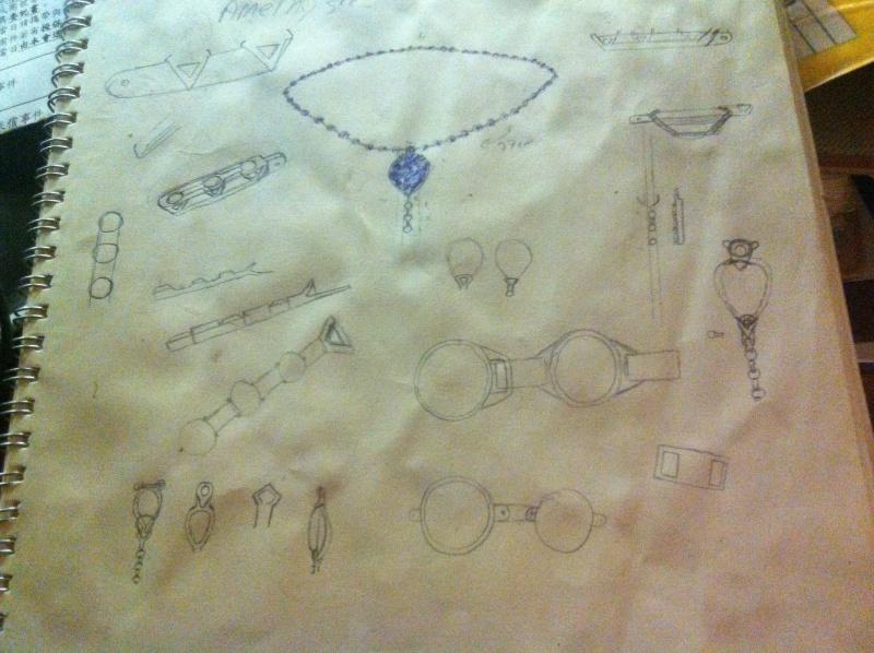 collier d'amethyste 20160621