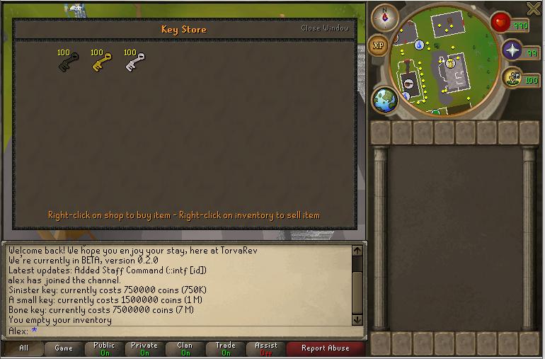 New shop/items: Caskets & keys! [Update] Keysto10