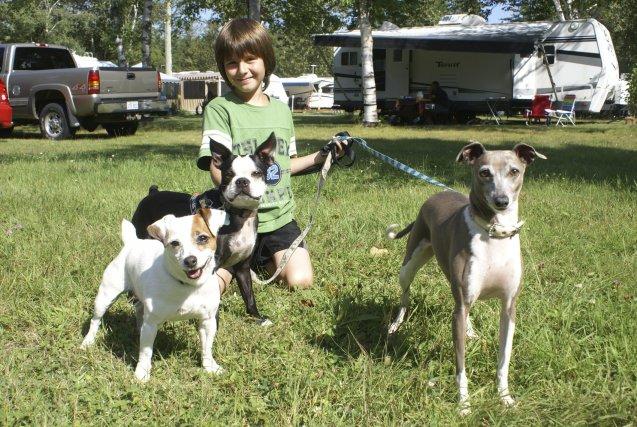 Camping..... paradis des chiens Campin10