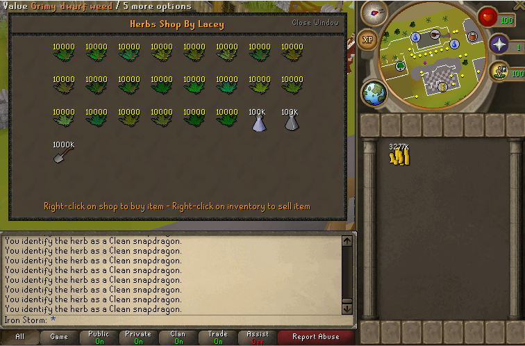 Lazy Storm's 1-99 Farming/Herblore Guide Buying11