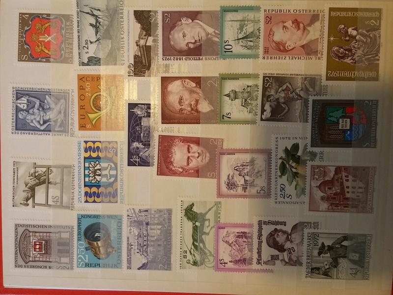 Briefmarkensammlung Östereich 20160610