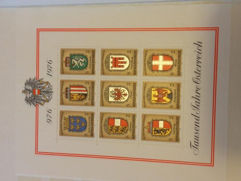 Briefmarkensammlung Östereich 20160612