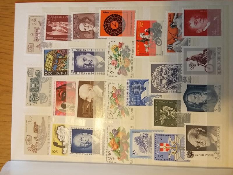 Briefmarkensammlung Östereich 20160613