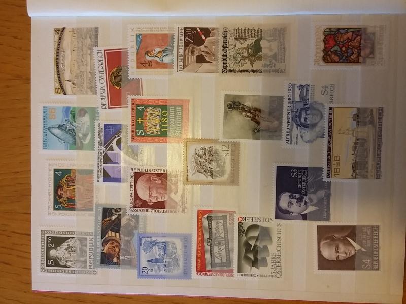 Briefmarkensammlung Östereich 20160614