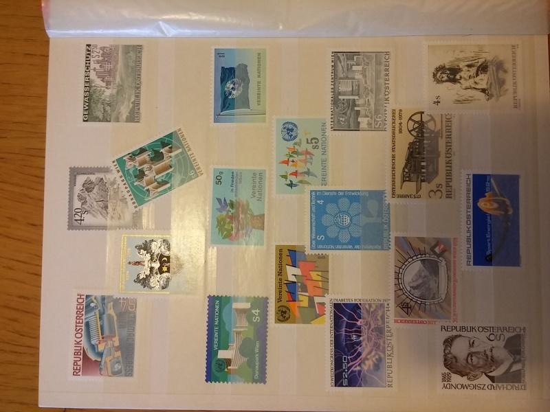 Briefmarkensammlung Östereich 20160616
