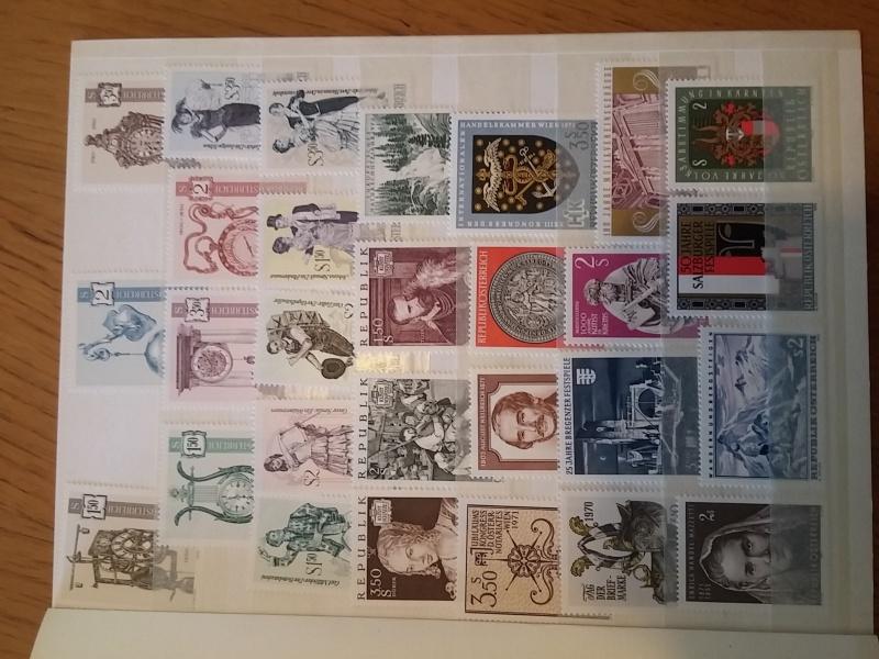 Briefmarkensammlung Östereich 20160617