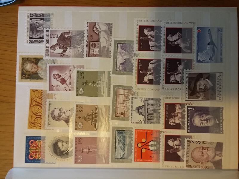 Briefmarkensammlung Östereich 20160618